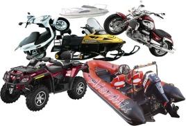 ремонт и техническое обслуживание скутера, снегохода или квадроцикла